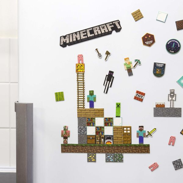 Build a Level Minecraft Magnets