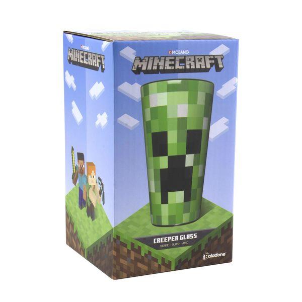 Vaso Creeper Minecraft 450ml