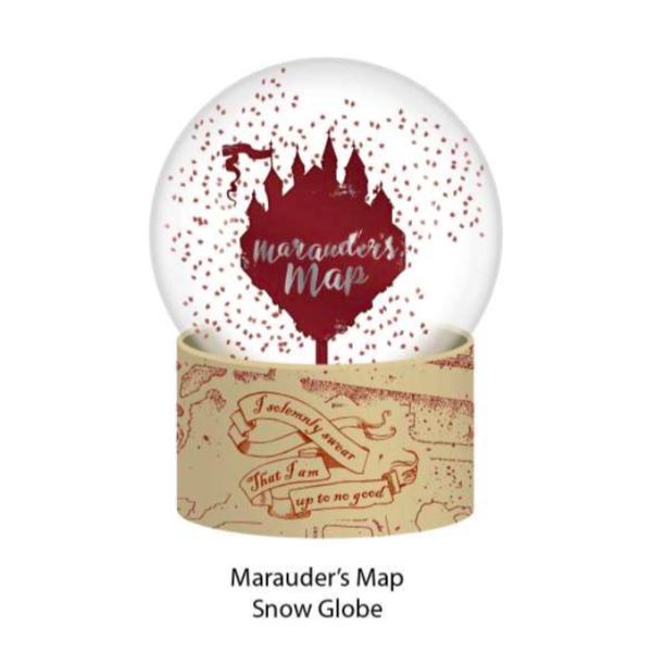 Marauder's Map Snowball Harry Potter