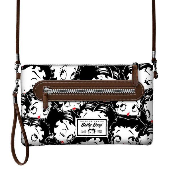 Betty Boop Handbag Action Handy Black