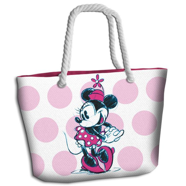 Minnie Mouse Pink Beach Bag Disney