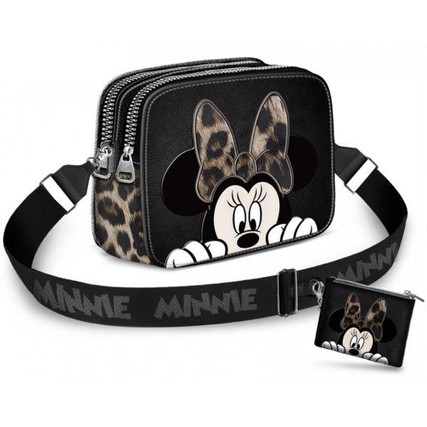 Classy Minnie Mouse Handbag + Purse Disney