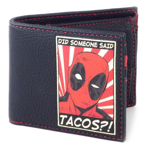 Deadpool Tacos Wallet Marvel Comics