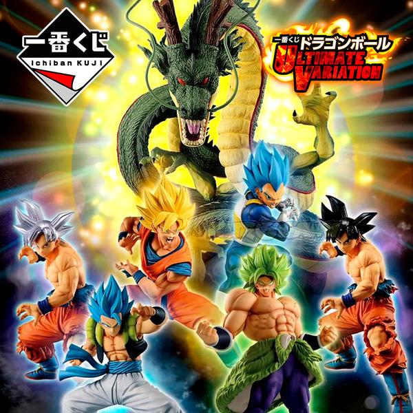 Kuji Ticket Dragon Ball Super ULTIMATE VARIATION