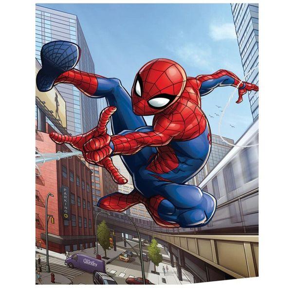Spider Man Polar Plaid Marvel Comics 70 x 140 cms