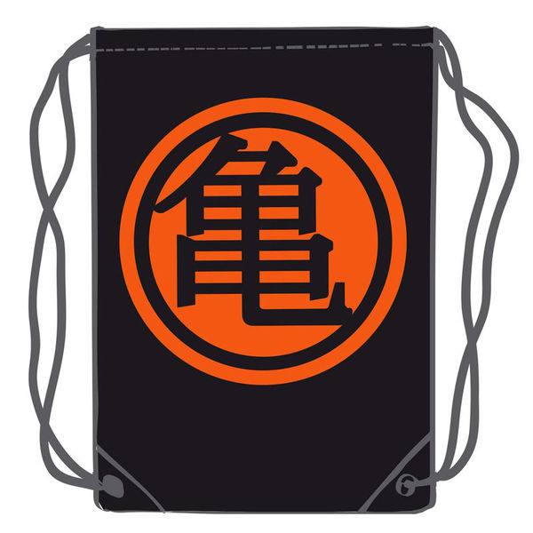 Mochila GYM Kanji Kame Negro Dragon Ball