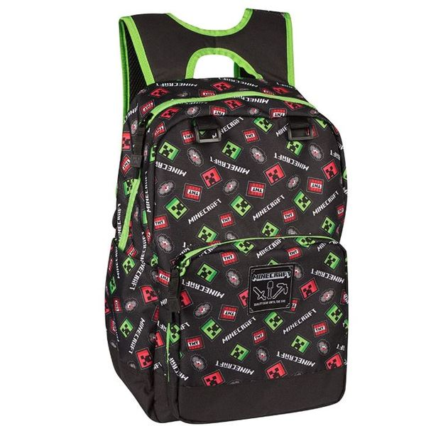 Mochila Scatter Creepers Minecraft