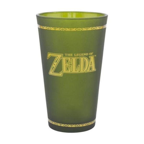Hyrule Shield Large Glass The Legend of Zelda 450ml