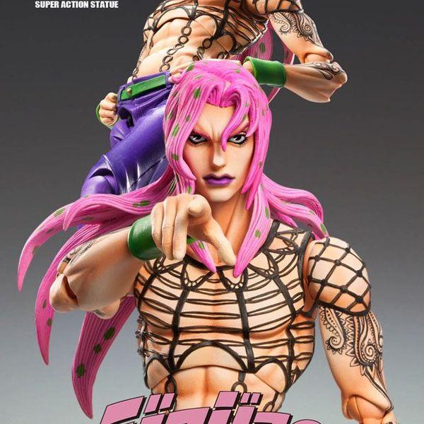 Figura Diavolo JoJo s Bizarre Adventure Super Action Chozokado