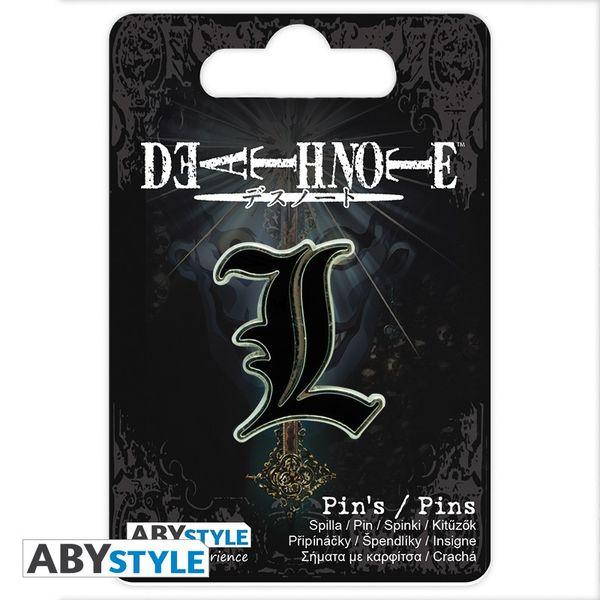 Pin L Death Note