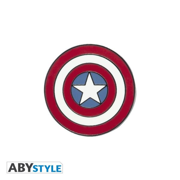 Pin Escudo Capitan America Marvel