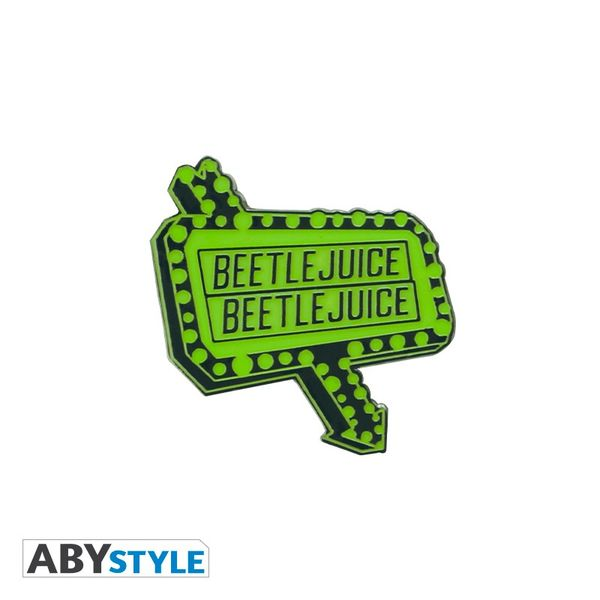 Pin Cartel Luminoso Beetlejuice