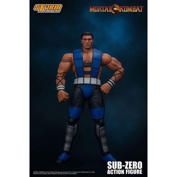 Sub Zero Unmasked Figure Mortal Kombat