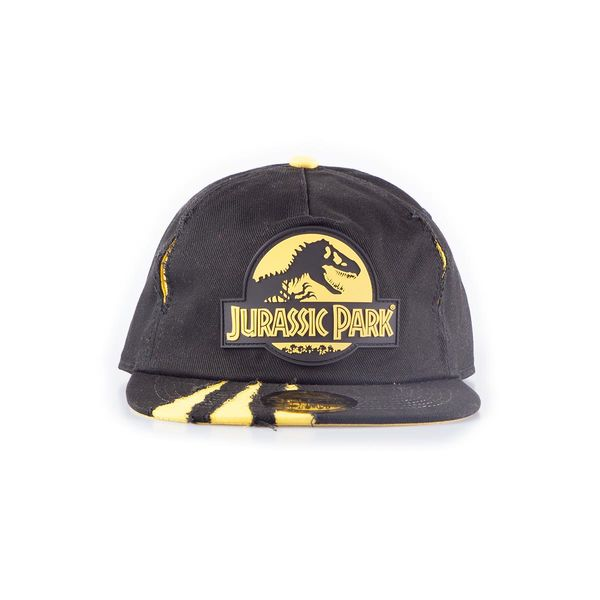 Gorra Snapback Jurassic Park Logo Rubber