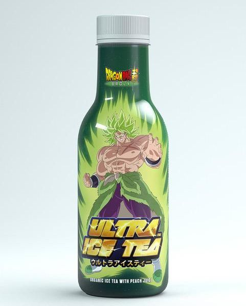 Té Helado de Melocotón Broly Dragon Ball Super ULTRA ICE TEA Bio