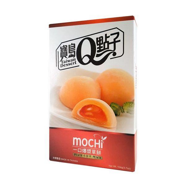 Caja de Mochis Melocotón Taiwan Dessert