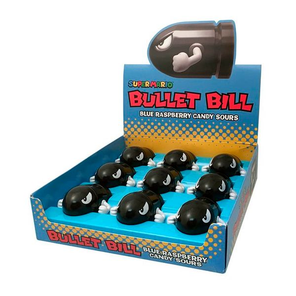 Caramelos Super Mario Bros Bullet Bill Sour Candies