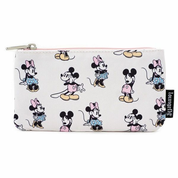 Minnie & Mickey Mouse Pastel Toilette Bag Disney