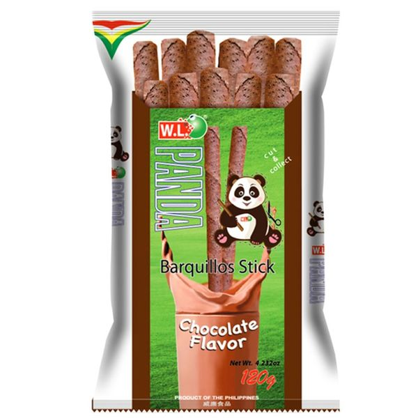 Panda Barquillo Stick Chocolate