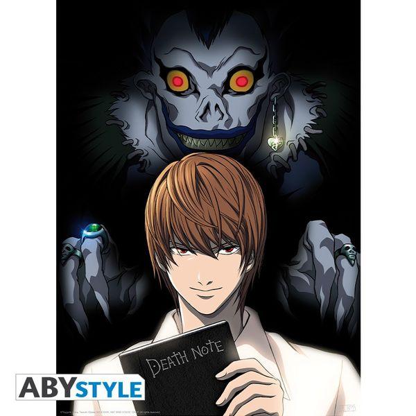 Poster Light & Ryuk Death Note 52 x 38 cms