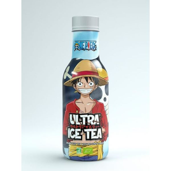 Té Helado de Frutos Rojos Monkey D Luffy One Piece ULTRA ICE TEA Bio