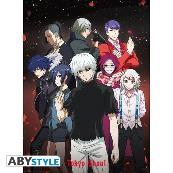 Poster Grupo Tokyo Ghoul 91,5 x 61 cms