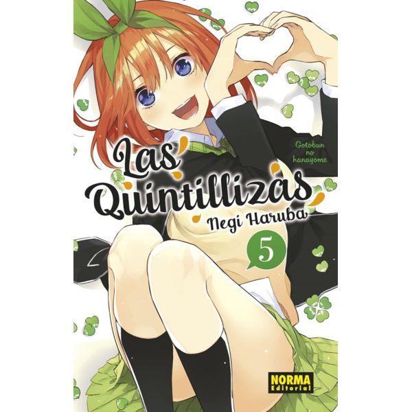 Las Quintillizas #05 Manga Oficial Norma Editorial