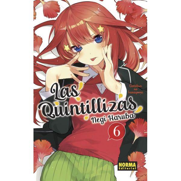 Las Quintillizas #06 Manga Oficial Norma Editorial