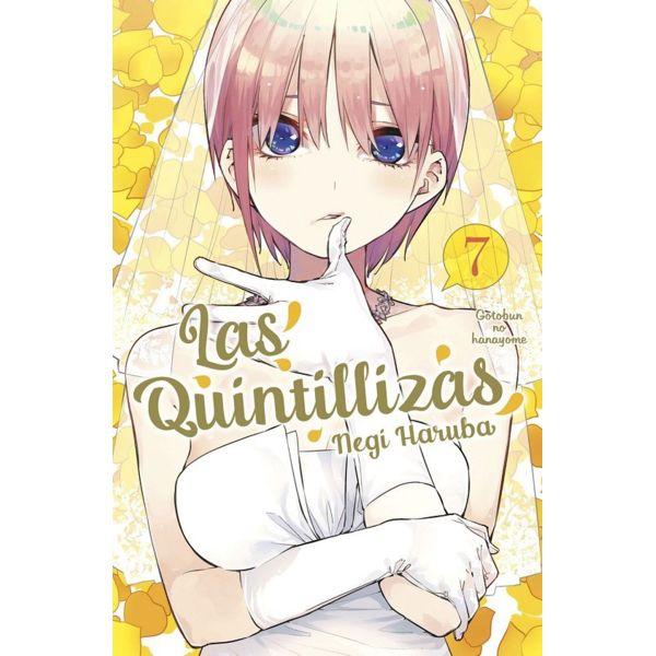 Las Quintillizas #07 Manga Oficial Norma Editorial (spanish)