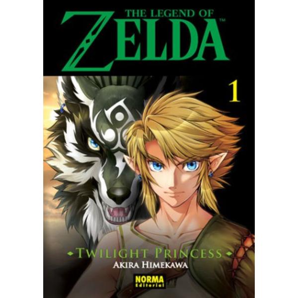 The Legend of Zelda Twilight Princess #01 Manga Oficial Norma Editorial