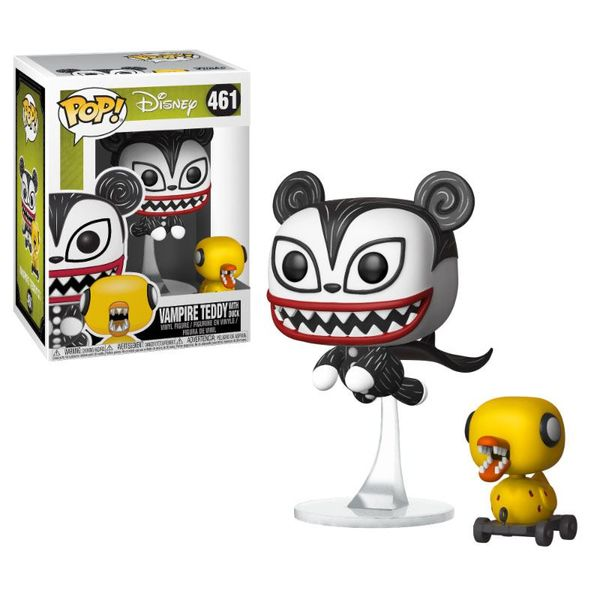 Vampire Teddy & Duck Funko Nightmare before Christmas POP!