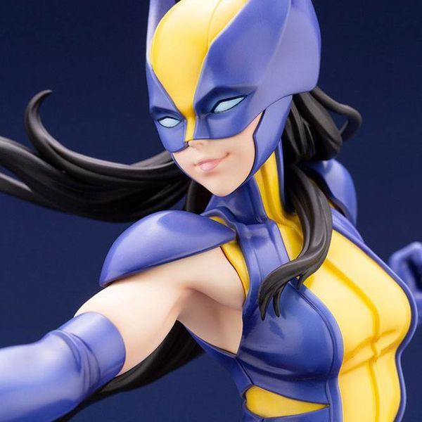 Figura Wolverine Laura Kinney Bishoujo Marvel Comics