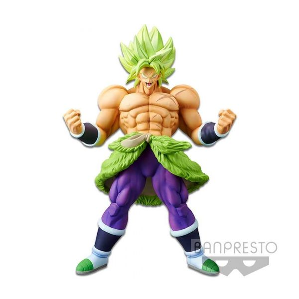Broly SSJ Full Power Figure Dragon Ball Super Chokoku Buyuden