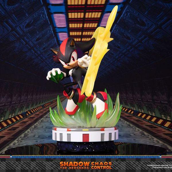Estatua Shadow the Hedgehog Chaos Control Sonic the Hedgehog