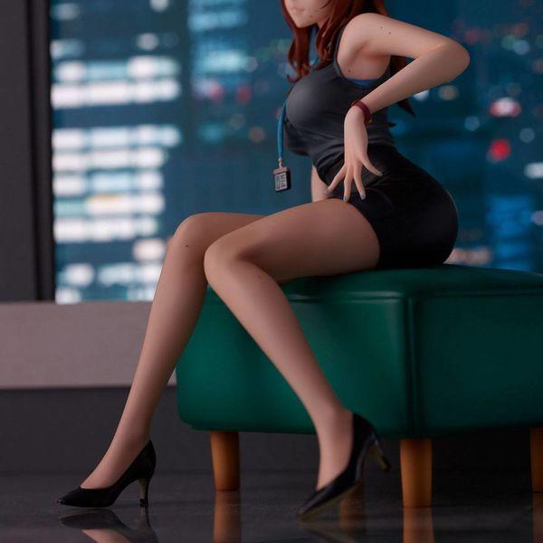 Figura Doushima Illustration Senior Office Lady With Many Moles Original Illustration