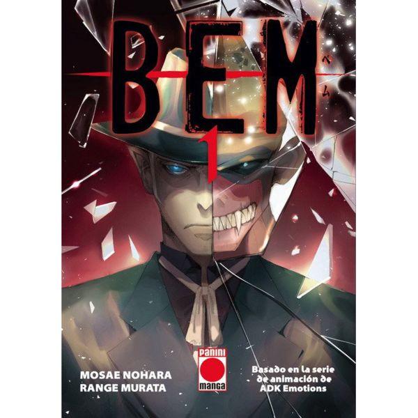 BEM #01 Manga Oficial Panini Manga