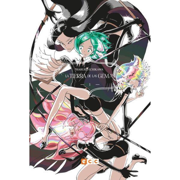 La Tierra De Las Gemas #01 Manga Oficial ECC Ediciones