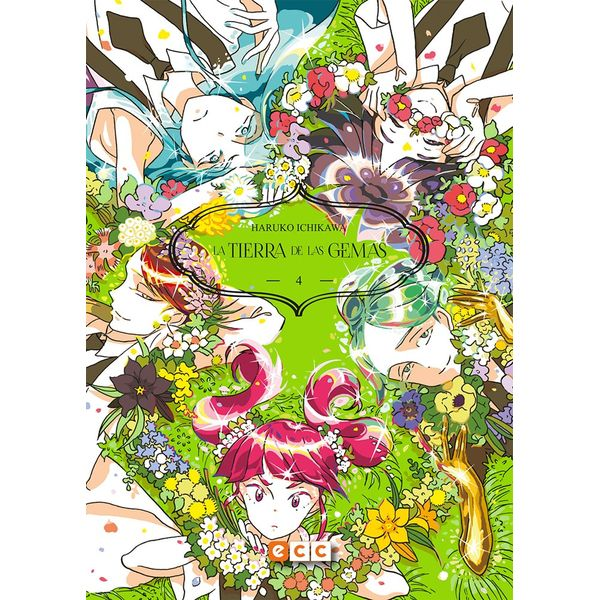 La Tierra De Las Gemas #04 Manga Oficial ECC Ediciones