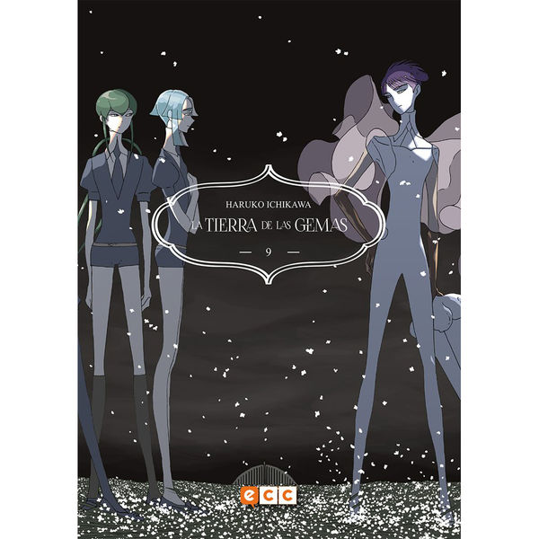 La Tierra De Las Gemas #09 Manga Oficial ECC Ediciones