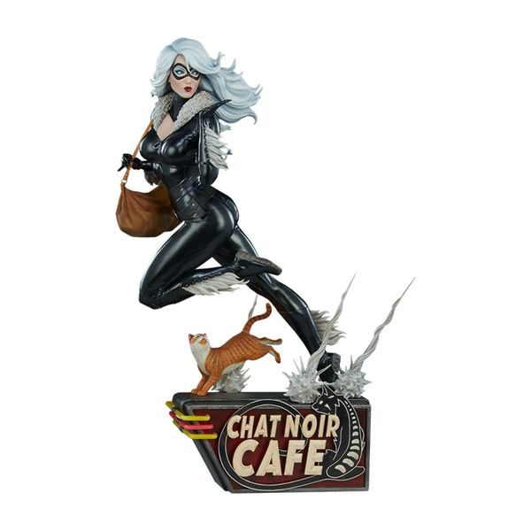 Estatua Black Cat Marvel Comics