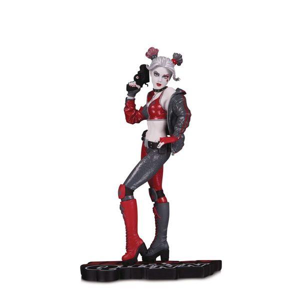 Estatua Harley Quinn by Joshua Middleton DC Comics Red, White & Black