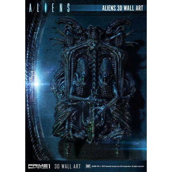 Estatua Aliens 3D Wall Decoration