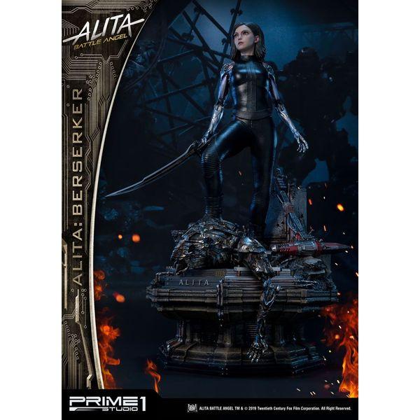 Estatua Alita Berserker Alita Angel de Combate