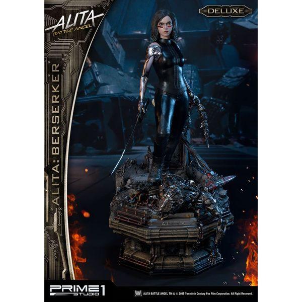 Estatua Alita Berserker Deluxe Version Alita Angel de Combate