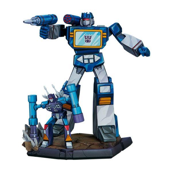 Estatua Classic Scale Soundwave Transformers