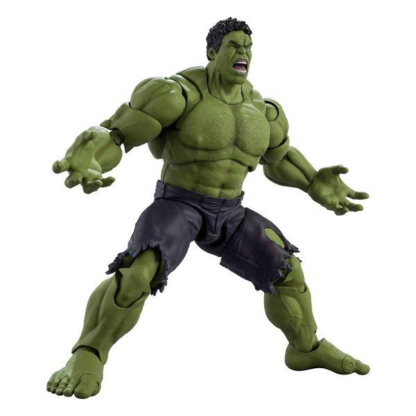 SH Figuarts Hulk Avengers Assemble Edition Vengadores Marvel Comics