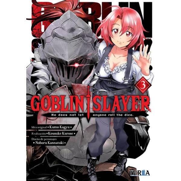 Goblin Slayer #03 Manga Oficial Ivrea (spanish)