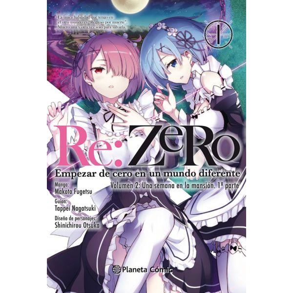 Re:Zero Chapter 2 #01 Manga Oficial Planeta Comic
