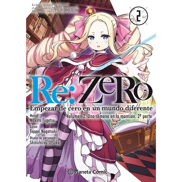 Re:Zero Chapter 2 #02 Manga Oficial Planeta Comic (Spanish)