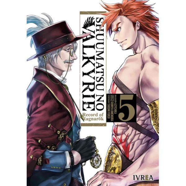 Shuumatsu no Valkyrie Record of Ragnarok #05 Manga Oficial Ivrea